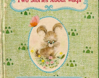Two Stories About Wags - Betty Biesterveld - Dan and Norma Garris - 1966 - Vintage Kids Book