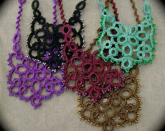 Tatted Lace Necklace - Quandary