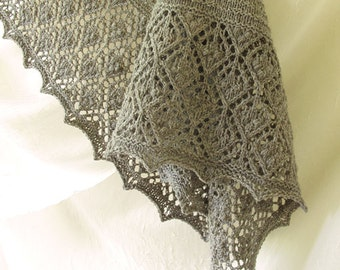 Peppernut Lace Shawl Knitting Pattern PDF
