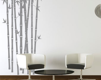 Bamboo Forest Vinyl Wall Decals