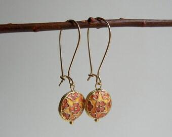 Gold Calliope Earrings