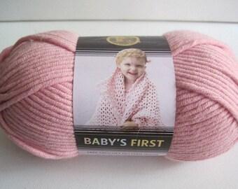 one skein of Lion Brand baby's First  yarn destash