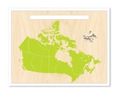 Canada Map & Pin Set. Push Pin Travel Map. Canada Map. Personalized Map. Travel Map. Custom Map. Inspirational Map. Mounted Map. Map Art.