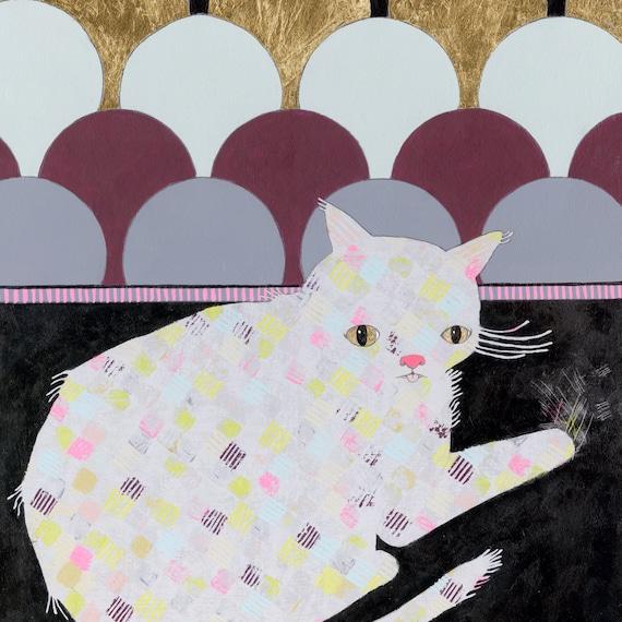 Kitty - Original Art Painting