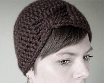 Crochet Wool Flapper Hat - choose your own colors and brooches - customized winter hats for women - design girls hat crochet