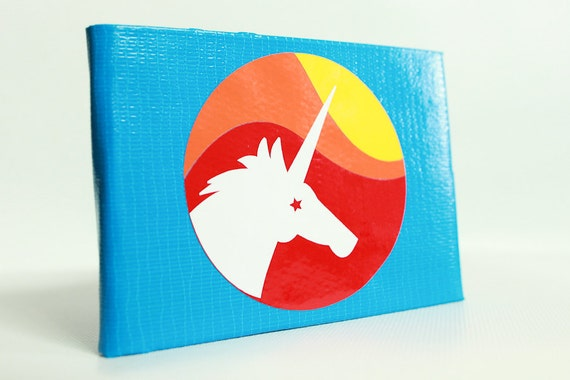 Unicorn Magic Duct Tape Wallet - by jDUCT