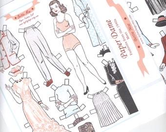 Paper Dame- Bettie Mae Fashion Doll