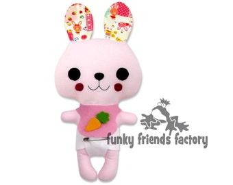 Kawaii Animal Doll Bunny Patten PDF INSTANT DOWNLOAD