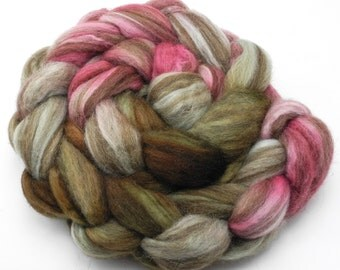 Neapolitan Hand Dye Spinning Fiber - Roving Dyed to Order
