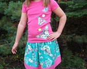 Fall Flutters Skirt Set for Girls Sizes 10/12 READY TO SHIP