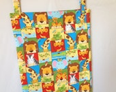 Take me to the Zoo 17x33 hanging wetbag