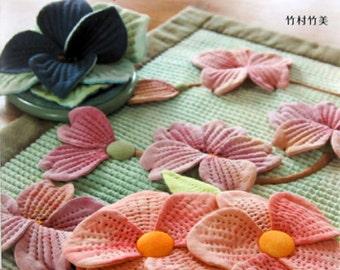 3D Flower Patchworks -  Japanese Craft Book*