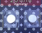 2 Sets Hidden Sew In Magnetic Snaps with PVC (available in 10mm, 14mm, 18mm, 20mm)