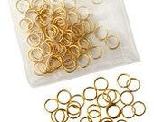 Brass Stitch markers-Knit Picks