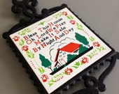 "Reserved for Karen - Vintage Norcrest ""Bless This House"" Trivet"