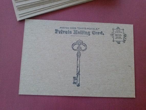 "Chipboard Postcard blanks - set of 20 - 5 1/2"" x 3 3/4"""