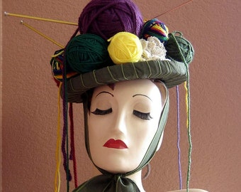 Yarn Lovers Knitting Headpiece Hat