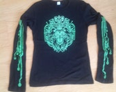 Cyber lion Women's Long Sleeve T Shirt