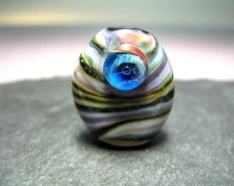 Handmade Lampwork Focal Bead by GlassBeadArt  ... SRA F12 ... 24x21mm