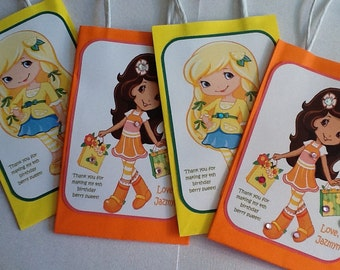 Made to Order - STRAWBERRY SHORTCAKE & FRIENDS Gift Bags