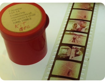 3 x Classroom Vintage Filmstrips