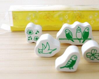Little bird stamp set