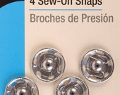 Dritz - SEW-ON SNAPS - 4 Ct. - Size 10