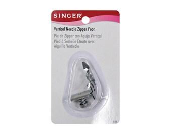 Singer ZIPPER FOOT - Low Shank - Adjustable