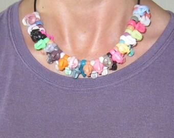 Barbie Brains Necklace -upcycled-i
