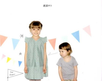 Straight Stitch Kids Clothes - Japanese Craft Book