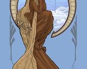 Bespin Leia Notecard (Item 05-003)