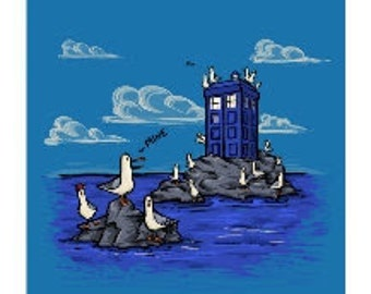 The Seagulls Have the Phonebox Notecard (Item 05-314)