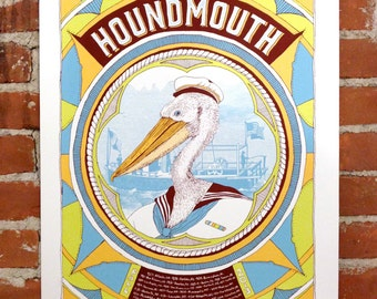 Houndmouth- Official Fall Tour 2013 Gigposter