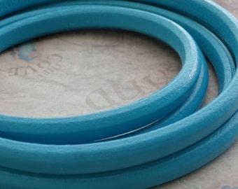 SALE: Blue Moon Regaliz Licorice Leather - Sold per 8 inches
