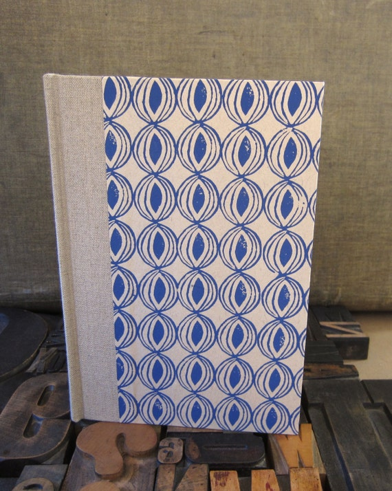 Journal - Large Unlined Blue Onion