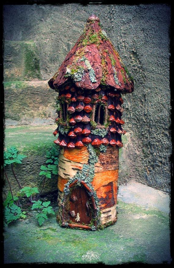 Elfin Tower Custom Order, fairytale, fairy house, fairy, elf, dollhouse, fantasy dollhouse,
