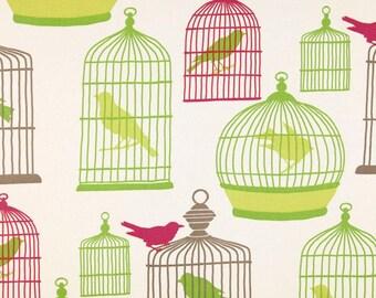 Waverly flight of fancy bird valance green birds valance valance 52 X 14
