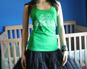 Go Green Recycle halter top XSmall Small