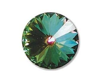 2 - 14mm Swarovski Elements Crystal Rivoli 1122 MEDIUM VITRAIL Beads 59158