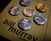 Bill Murray Pinback Buttons