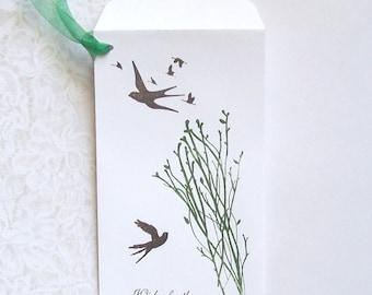 Wedding Wishing Tree - Money Envelopes - Gift Card - Check - Bridal Shower - Sweet 16 - Birthday - Honeymoon Fund
