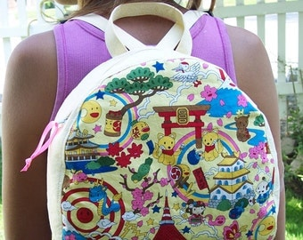 My Carrie Kawaii Small Backpack/Purse for Toddler up to Adult