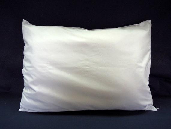 Organic Cotton Barrier Pillow Cover Organic Pillow Protector