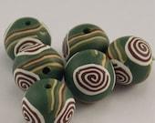 Handmade Polymer Clay Bead