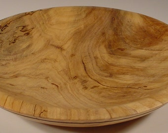 Texas Spalted Pecan bowl turned wood bowl number 5361