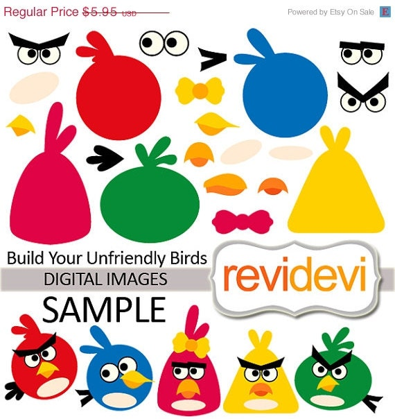 Items similar to Build Your Unfriendly Birds 07371 ...