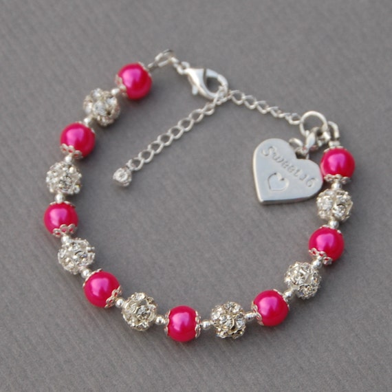 Sweet 16 Jewelry Sweet 16 Gift 16th Birthday Charm By