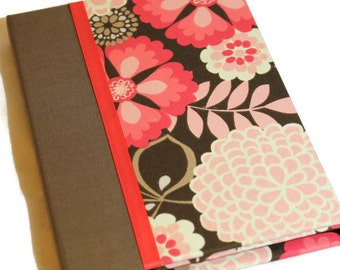 Kindle Fire, Fire HD Case, Nexus 7 Cover, Nook Tablet, HD Case, Hardcover Small Tablet Case, Personalized, Wild Flowers Pink