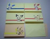 Pikachu Stationery Set