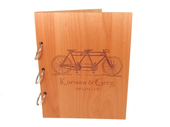 https://www.etsy.com/listing/159570787/tandem-bicycle-wedding-guest-book-photo